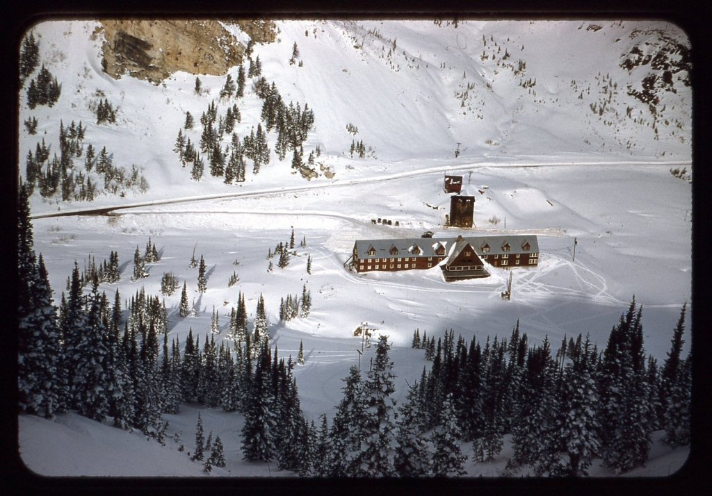 The Alta Peruvian Lodge, seen from Wildcat Bowl