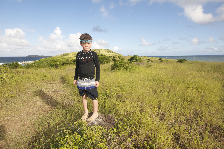 Kai on Pinel Island